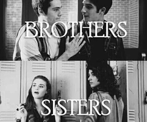 teen wolf, sisters, and brothers image