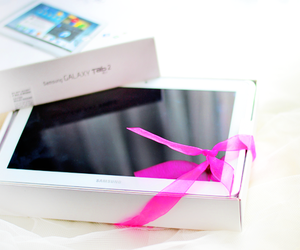 tablet and white image