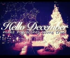 wishes, cometrue, and hellodecember image