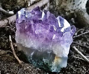 amethyst, quartz, and hippie image