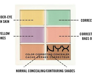 contour, beauty, and color image