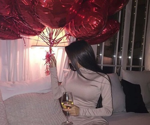 luxury, red, and balloons image