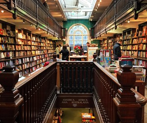 books, london, and shopping image