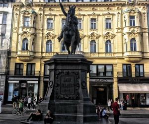 Croatia and zagreb image