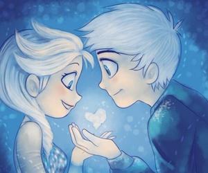 frozen, elsa, and love image
