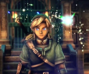 Legend of Zelda, link, and wiiu image