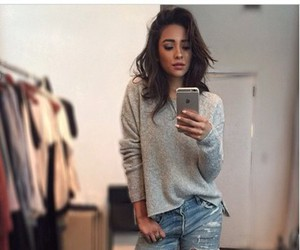 shay mitchell, style, and jeans image