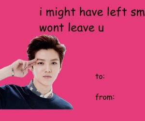 exo, funny, and valentine's card image