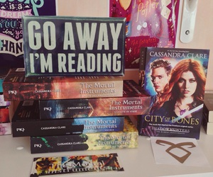 books, cassandraclare, and themortalinstrument image