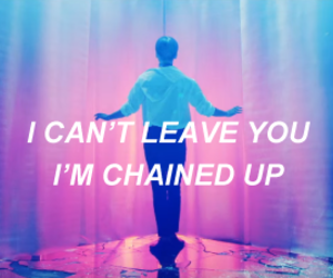 aesthetic, vixx, and all caps lyrics image