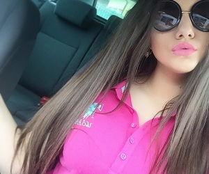 brunette, fashion, and Polo image