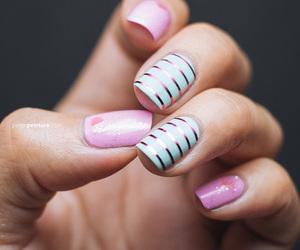 art, nails, and love image