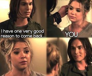 pretty little liars, haleb, and pll image