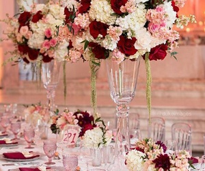 casamento, pink, and red image
