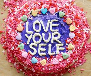 cake, love, and sweet image