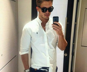 fashion, handsome, and men image