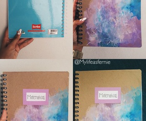 art, notebook, and cover image