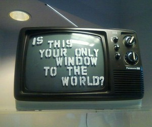 tv, world, and quotes image