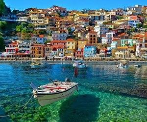 architecture, Greece, and santorini image