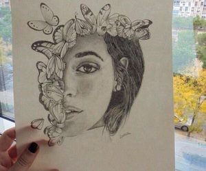 art, girl, and camila cabello image