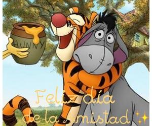happy valentine's day and feliz dia de la amistad image