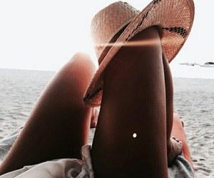 beach, summer, and women image