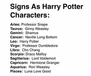 harry potter, sign, and virgo image