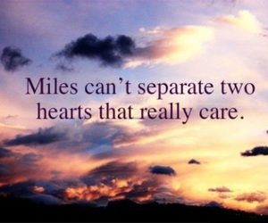 love, miles, and hearts image