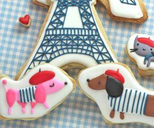 paris, Cookies, and sweet image