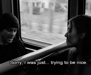 be nice, black and white, and eternal sunshine of the spotless mind image