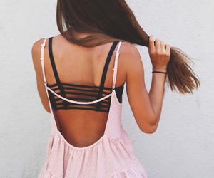 dress, girl, and fashion image