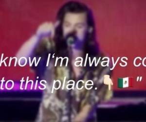 mexico, Harry Styles, and one direction image