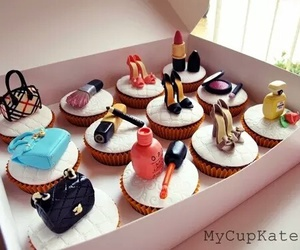 cupcake, food, and shoes image