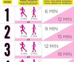 workout, running, and run image