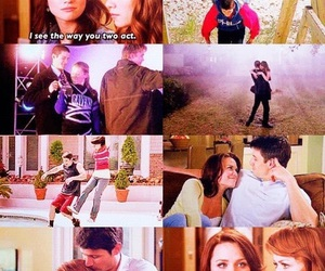 oth, naley, and love image