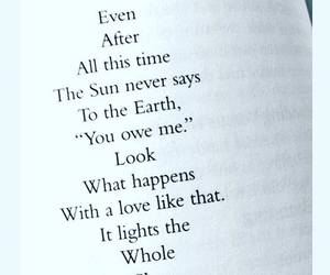 love, quote, and earth image