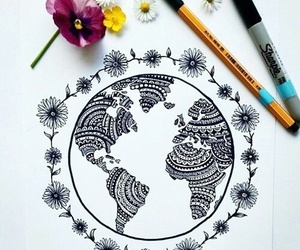 art, draw, and world image