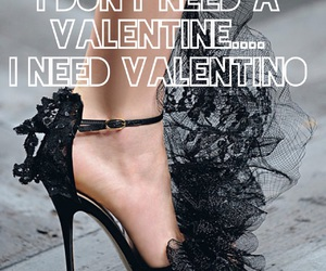 high heels, Valentino, and valentine image