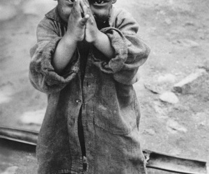 black and white, child, and kids image