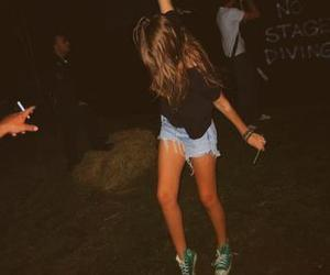 girl, party, and converse image