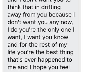 boyfriend, goals, and sweet text image