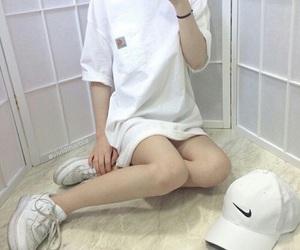 fashion, white, and nike image