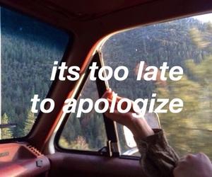 apologize, alternative, and grunge image