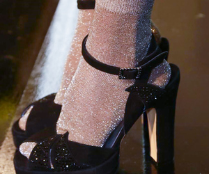 heels, socks, and cute image