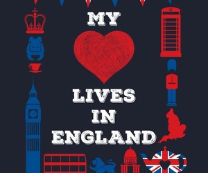 Big Ben, heart, and union jack image