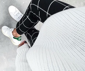 adidas, pants, and sneakers image