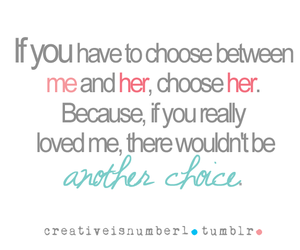 love, choice, and me image