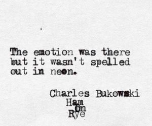 quotes, book, and Bukowski image