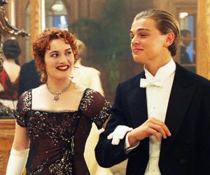 kate winslet, leonardo dicaprio, and titanic image