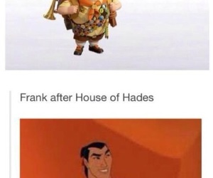 percy jackson, frank zhang, and funny image